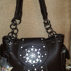 Montana West  Concho Bag